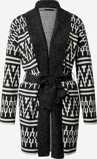 ONLY Cardigan 'Lynne' en noir / blanc, Vue avec produit