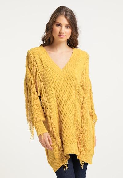 IZIA Pullover in gelb, Modelansicht