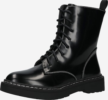 rubi Lace-Up Ankle Boots 'FREDA' in Black