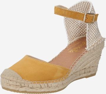 Vidorreta Sandale in Gelb