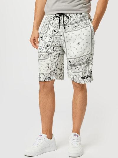 Mennace Kalhoty - černá / bílá, Model/ka