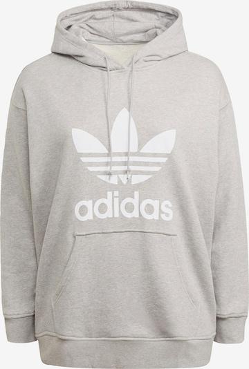 ADIDAS ORIGINALS Bluzka sportowa w kolorze nakrapiany szary / białym, Podgląd produktu