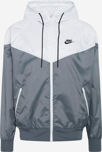 Nike Sportswear Jacke in stone / schwarz / weiß, Produktansicht