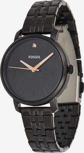 FOSSIL Analogna ura 'Lexie' | črna barva, Prikaz izdelka