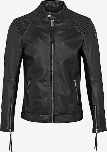 tigha Lederjacke  ' Jalo ' in schwarz, Produktansicht