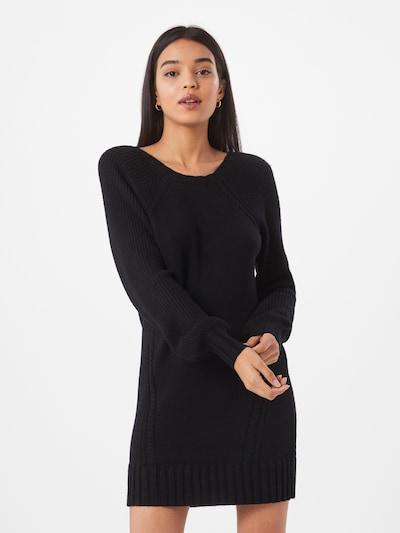 Megzta suknelė 'Sandy' iš ONLY , spalva - juoda, Modelio vaizdas