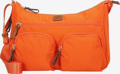 Bric's Umhängetasche 'X-Bag' in braun / orange, Produktansicht
