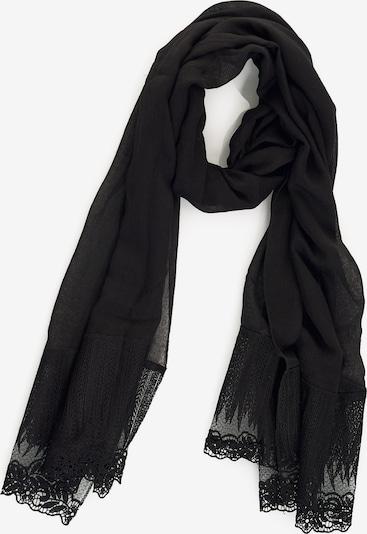 Emma & Kelly Schal im modernen Look in schwarz, Produktansicht