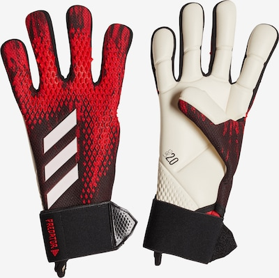 ADIDAS PERFORMANCE Handschuh in rot / schwarz / weiß, Produktansicht