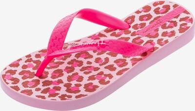 Ipanema Zehentrenner in pink / rosa / rostrot, Produktansicht