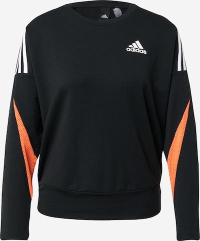 ADIDAS PERFORMANCE Sportska sweater majica u narančasta / crna / bijela, Pregled proizvoda