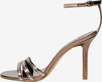 MANGO Sandaletten 'Diana' in gold, Produktansicht