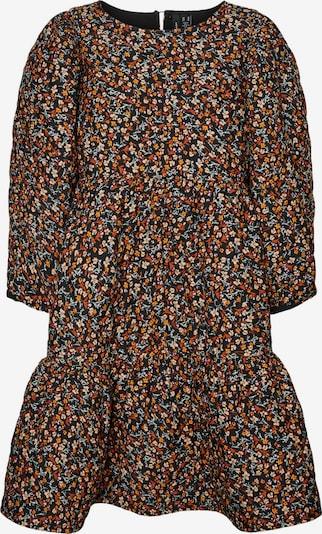 VERO MODA Kleid 'Leonora' in pastellgrün / pastelllila / orange / pastellorange / schwarz, Produktansicht