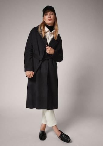 COMMA Between-Seasons Coat in Black