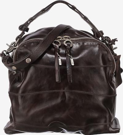 A.S.98 Handtasche in dunkelbraun: Frontalansicht