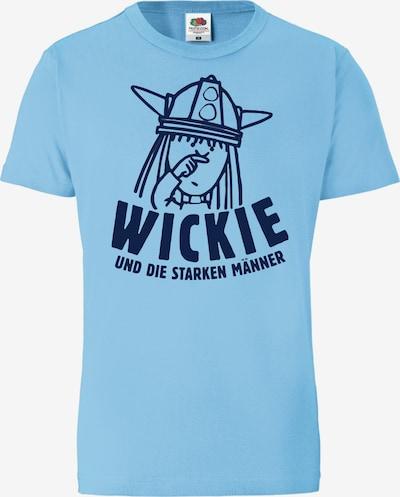 LOGOSHIRT T-Shirt 'Wickie und die starken Männer' in hellblau, Produktansicht