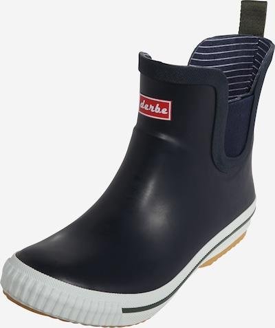 Derbe Holínky - marine modrá / červená / bílá, Produkt