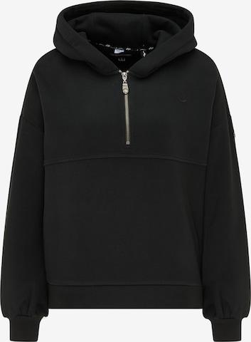 DreiMaster Vintage Sweatshirt in Schwarz