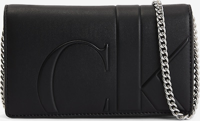 Calvin Klein Jeans Etui za mobitel u crna / srebro, Pregled proizvoda