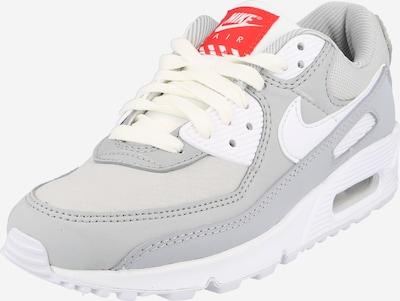 Sportbačiai be auliuko 'Air Max 90' iš Nike Sportswear, spalva – pilka / šviesiai pilka / balta, Prekių apžvalga