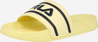 FILA Mule 'Morro Bay' en jaune / noir, Vue avec produit