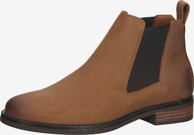 CLARKS Chelsea Boots in Light brown / Dark brown, Item view