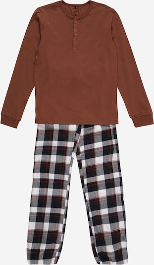 Miego kostiumas 'RASSY' iš NAME IT , spalva - ruda / juoda / balta, Prekių apžvalga