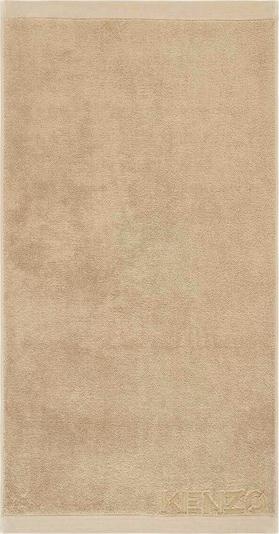 Kenzo Home Handtuch 'ICONIC' in beige, Produktansicht