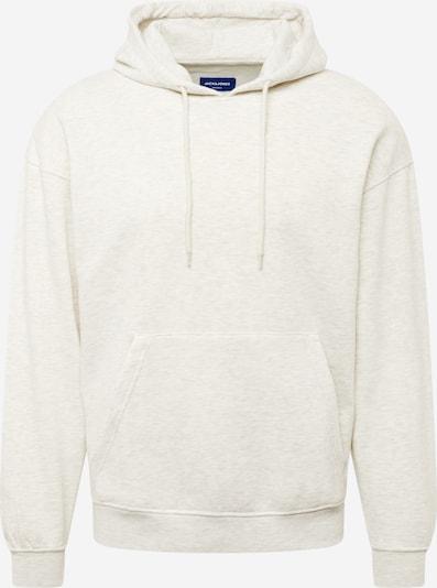 JACK & JONES Sweat-shirt 'BRINK' en blanc chiné, Vue avec produit