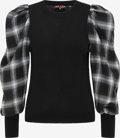 myMo ROCKS Sweater in Black / White, Item view