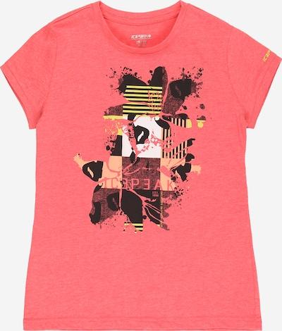 ICEPEAK Funkčné tričko 'Kaub' - žltá / broskyňová / ružová / čierna / biela, Produkt