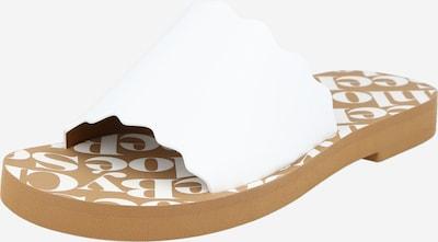 See by Chloé Mule 'Essie' en blanc, Vue avec produit