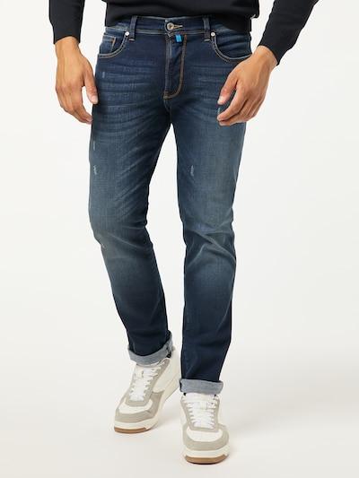 PIERRE CARDIN Jeans 'Lyon Tapered' in de kleur Blauw denim, Modelweergave