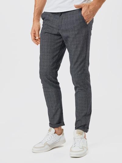 JACK & JONES Pantalón chino 'MARCO STUART' en gris / negro, Vista del modelo