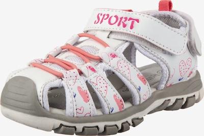 Happy Bee Sandale in navy / koralle / pink / weiß, Produktansicht