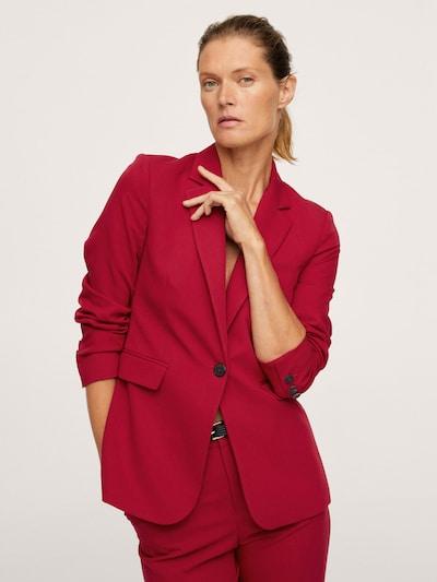 MANGO Blazer 'BOREAL' in rot, Modelansicht