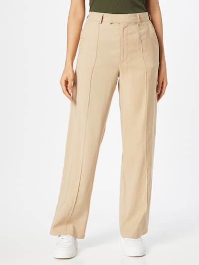 Cotton On Pleated Pants 'DARCY' in Sand, View model