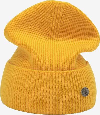 DreiMaster Vintage Mütze in goldgelb, Produktansicht