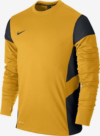 NIKE Sweatshirt in goldgelb / schwarz, Produktansicht