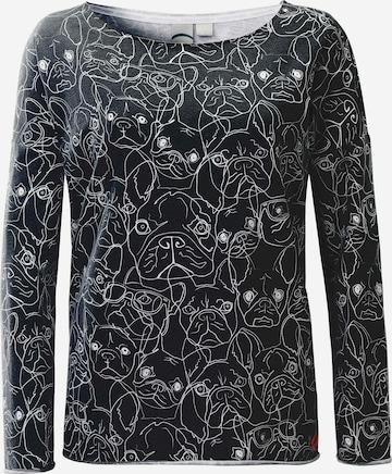 ViertelMond Sweatshirt 'Sophina' in Grey