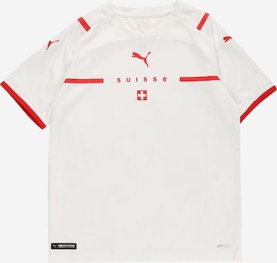 PUMA Trikot 'Schweiz' in rot / weiß, Produktansicht