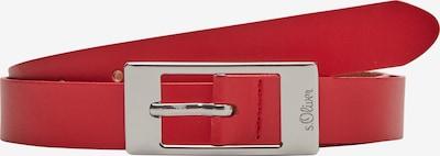 s.Oliver Gürtel in rot, Produktansicht