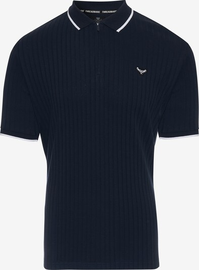 Threadbare Shirt 'Ward' in navy / weiß, Produktansicht