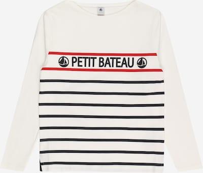 PETIT BATEAU Shirt in Red / Black / White, Item view