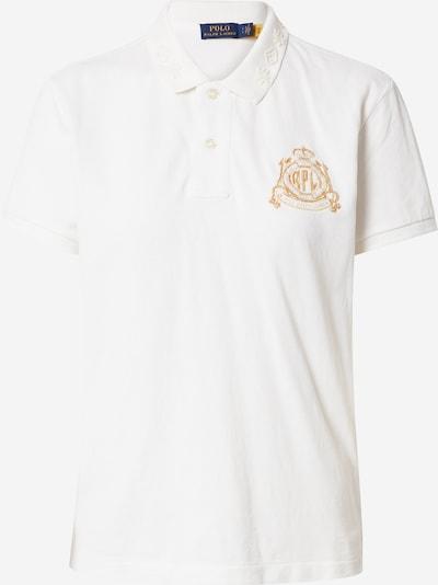 Polo Ralph Lauren Poloshirt in gold / weiß, Produktansicht
