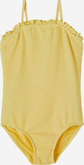 NAME IT Badeanzug 'Filippa' in gelb, Produktansicht