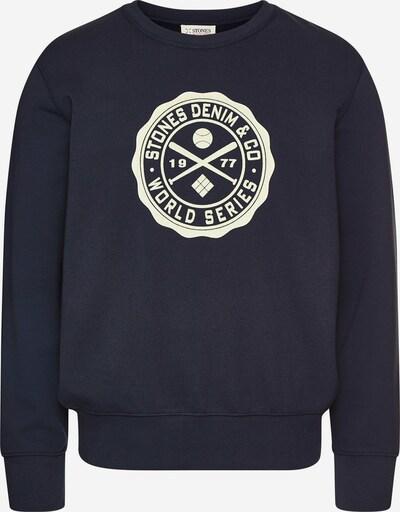 STONES Sweater 'CREW NECK' in blau, Produktansicht