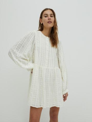 EDITED Shirt dress 'Tinsley' in White