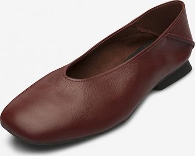CAMPER Mocassin ' Casi Myra ' en bordeaux, Vue avec produit