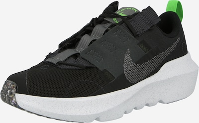 Nike Sportswear Sneaker 'Crater Impact' in dunkelgrau / neongrün / schwarz, Produktansicht